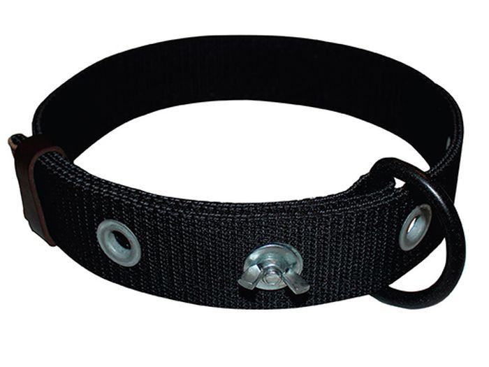 Ошейник привязной Каскад Классика, для крупных собак, двухслойный, усиленный, ширина 50 мм, обхват шеи 54-75 см00250011