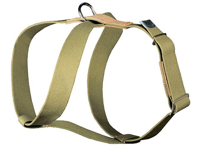 Шлейка брезентовая Каскад Классика, универсальная, ширина 35 мм, обхват груди от 35 до 70 см1104011