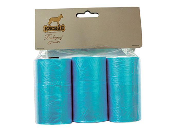 Гигиенические пакеты Каскад, для совка гигиенического и улицы, комплект 3 шт9312213Комплект пакетов (3шт) для совка гигиенического для улицы