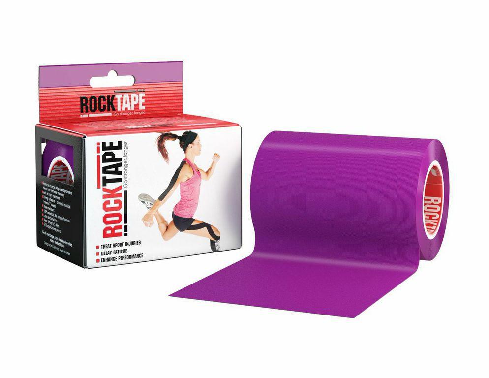 Кинезиотейп Rocktape Big Daddy, цвет: фиолетовый, 10 x 500 смRCT100-PU-MBКинезиотейп Rocktape Big Daddy предназначен для снятия отеков и рассасывания гематом. Уменьшает мышечную усталость и способствует притоку крови для более быстрого восстановления. Не содержит латекса и цинка. 180% эластичности.