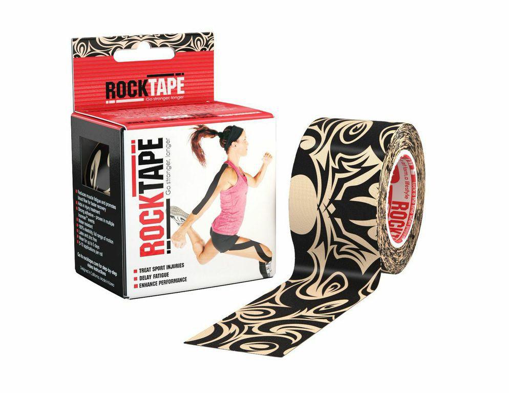 Rocktape Кинезиотейп Design, цвет: тату, 5см х 5мRCT100-TAT-OS