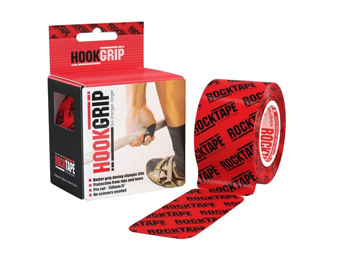 Кинезиотейп Rocktape HookGrip, цвет: красный, черный, 5 х 500 см, 32 полосыRCT100-HOOK-OSКинезиотейп Rocktape HookGrip, выполненный из хлопка и акрила, предназначен для снятия отеков и рассасывания гематом. Уменьшает мышечную усталость и способствует притоку крови для более быстрого восстановления. Изделие имеет плотную волнообразную структуру ткани. Не содержит латекса и цинка. Кинезиотейп поделен на 32 полосы.