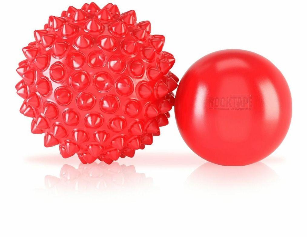 Rocktape Массажные мячи RockBalls, цвет: красный
