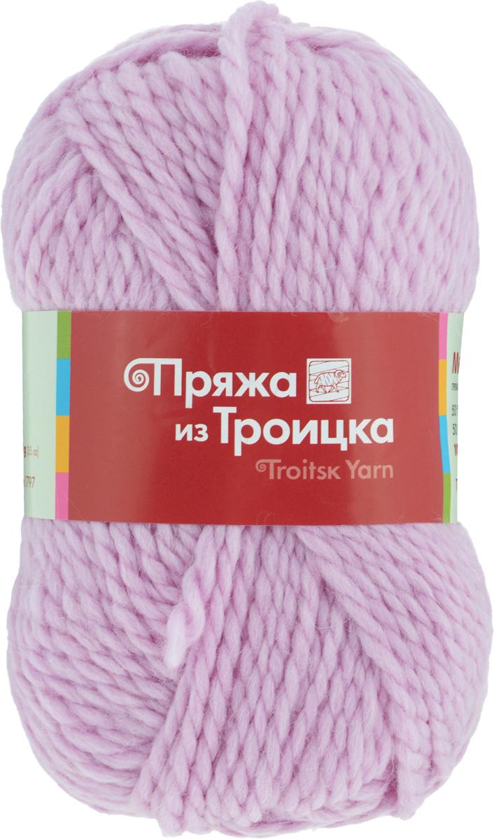 Пряжа для вязания Мелодия, цвет: сиреневые дали (0156), 100 м, 100 г, 10 шт366020_0156Классическая пряжа Мелодия имеет среднюю толщину нити и состоит из 50% шерсти и 50% акрила. Подходит для создания детских вещей на осень. Пуловеры, платья, пледы, шапки и шарфы из этой пряжи отлично держат форму и прекрасно согреют вас в холодную погоду. Благодаря составу и скрутке, петли отлично ложатся одна к другой, вязаное полотно получается ровное и однородное. Пряжа рассчитана на любой уровень мастерства, но особенно понравится начинающим мастерицам - благодаря толстой нити пряжа Мелодия позволяет быстро связать простую вещь. Структура и состав пряжи максимально комфортны для вязания. Состав: 50% акрил, 50% шерсть. Рекомендуемые спицы: 6 мм.