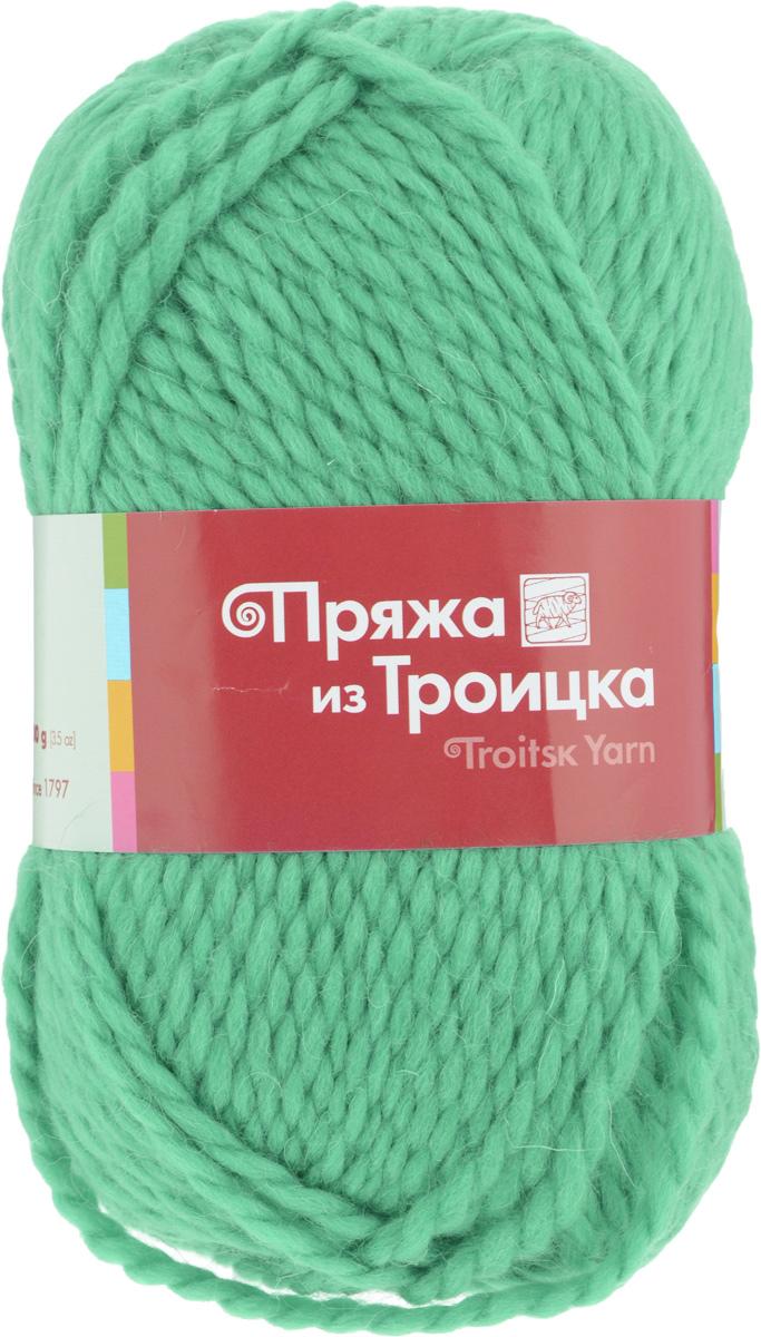 Пряжа для вязания Мелодия, 100 г, 100 м, цвет: 0057 светлый салат, 10 шт366020_0057