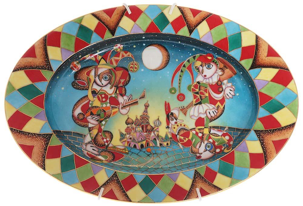 Оригинальная декоративная тарелка