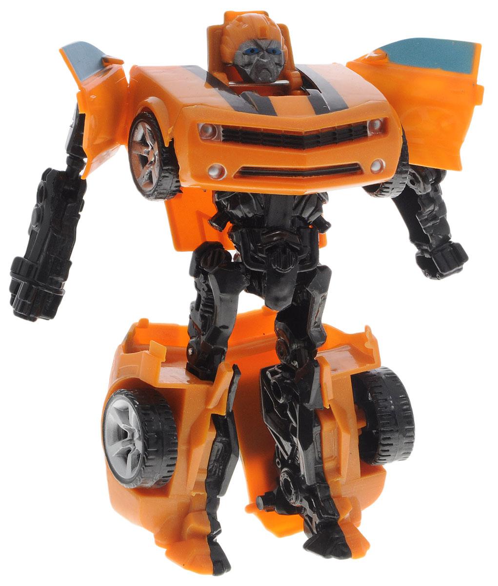Тилибом Робот-трансформер цвет оранжевый черныйТ80485_оранжевый, черныйОригинальный робот-трансформер Тилибом из серии Стражи галактики порадует вашего ребенка и надолго займет его внимание. Он выполнен из прочного пластика оранжевого и черного цветов. Конструкция робота имеет подвижные соединения, благодаря чему, ему можно придавать различные позы. Трансформер имеет две вариации: первая - робот с грозным оружием, вторая - мощная машина. Порадуйте ребенка таким замечательным подарком!