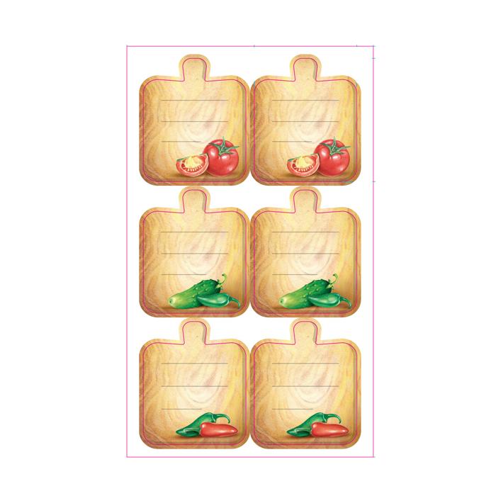 Набор для маркировки заготовок Home Queen Домашняя кухня, 6 дизайнов, 11х19см. 70055_170055_1Набор содержит стикеры для маркировки заготовок разных дизайнов. Можно использовать также для маркировки сыпучих продуктов.