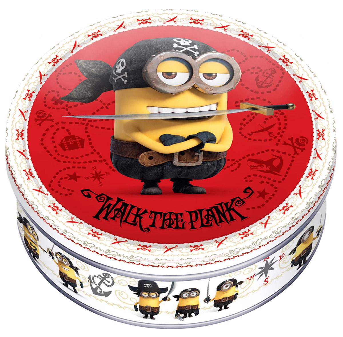 Minions печенье сдобное с кусочками шоколада, 150 г 4600416016891_красный фон