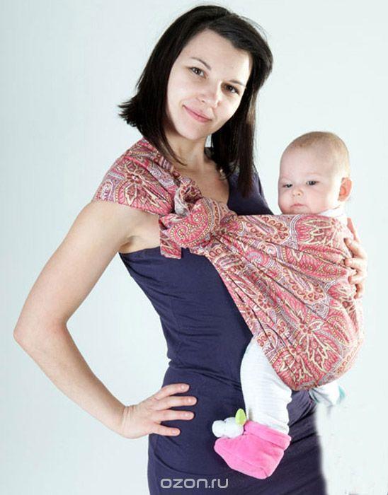 Мамарада Слинг с кольцами Северная сказка размер S6367Слинг с кольцами Мамарада Северная сказка позволяет носить ребенка как горизонтально в положении Колыбелька, так и в вертикальном положении. В слинге в положении Колыбелька малыш располагается точно также как у мамы на руках, что особенно актуально для новорожденного. Ткань слинга равномерно поддерживает спинку малыша по всей длине. Малышу комфортно и спокойно рядом с мамой. Мама в это время может заняться полезными делами или прогуляться. В положении Колыбелька очень удобно кормить ребенка грудью. В слинге в вертикальном положении ножки ребенка разводятся - это положение снимает нагрузку с копчика - ребенок поддерживается нижним бортиком слинга под коленками, а верхним прижимается к маминой груди. Такое положение ребенка в слинге - прекрасная профилактика дисплазии. Слинг изготовлен из бязи. При изготовлении этого вида ткани используются очень тонкие нити, но плотно переплетенные, за счет чего ткань становится тонкой, но очень прочной, гладкой и мягкой. Очень...