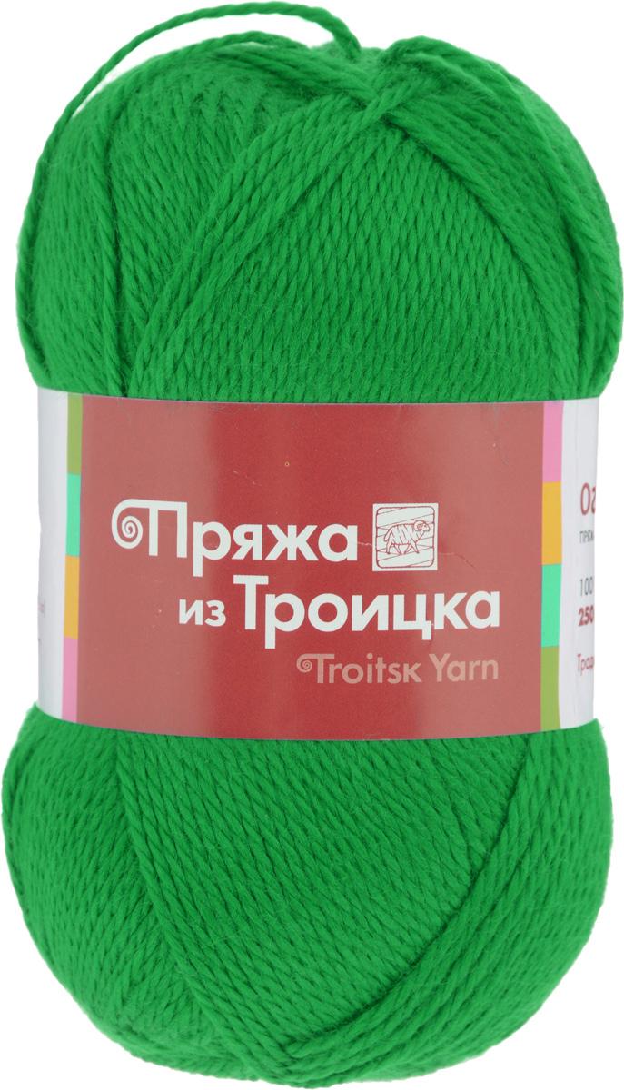 Пряжа для вязания Огонек, цвет: ярко-зеленый (0723), 250 м, 100 г, 10 шт366004_0723Классическая пряжа Огонек, не очень тугой крутки, представлена богатой палитрой однотонных и секционных расцветок. Состоит из 100% акрила, он придает пряже блеск, который сохраняется после стирки. Легко вяжется, экономична, подходит для обладателей самой чувствительной кожи. С такой пряжей процесс вязания превратится в настоящее удовольствие, а готовое изделие подарит уют и комфорт. Состав: 100% акрил.