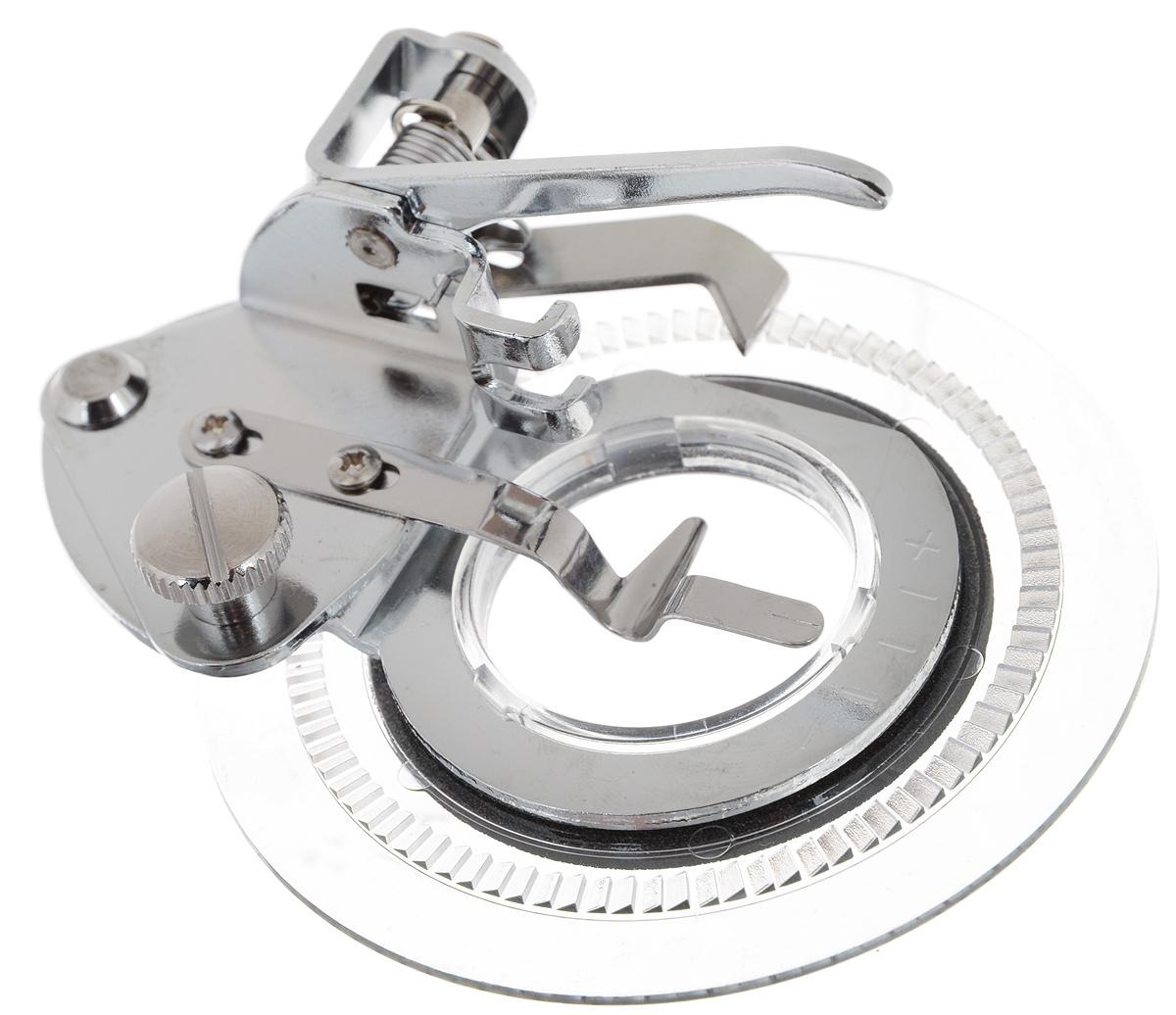 Лапка для швейной машины Aurora, для шитья узоровAU-120Лапка для швейной машины Aurora используется для шитья декоративных узоров по кругу. Подходит для большинства современных бытовых швейных машин. Инструкция по использованию прилагается.