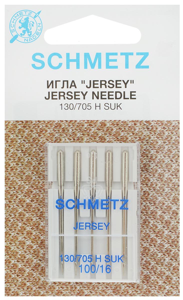 Набор игл Schmetz Jersey, №100, 5 шт22:15.FB2.VESНабор Schmetz Jersey состоит из пяти игл для бытовых швейных машин. Изделия выполнены из высококачественной стали. Предназначены для вязаных изделий и трикотажа. Комплектация: 5 шт. Размер игл: №100. Система игл: 130/705 H SUK.