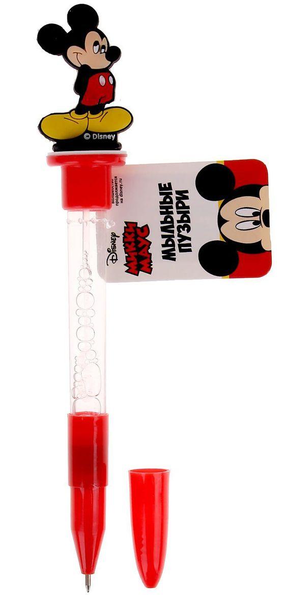 Disney Мыльные пузыри ручка с печатью и светом Микки Маус 10 мл + игрушка1185624Все любят мыльные пузыри, ведь эти волшебные невесомые сферы парят в воздухе, разлетаются задорными стайками, переливаясь всеми цветами радуги, а потом лопаются и превращаются в весёлые брызги. Они всегда занимают почётное место на детских мероприятиях, да и сами способны создать маленький праздник, особенно, когда флакончик украшен персонажами любимых мультфильмов.