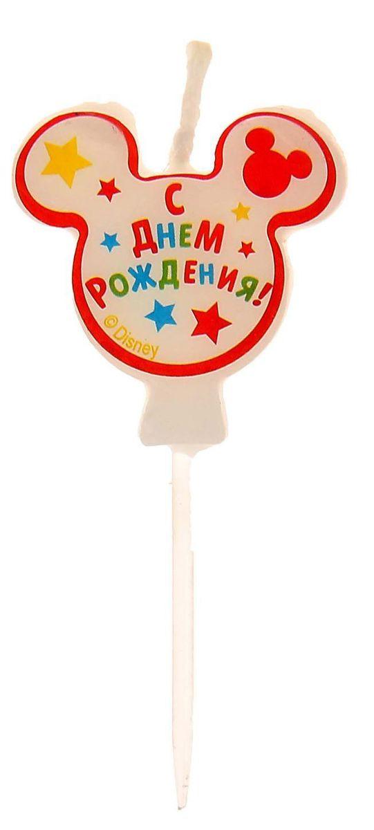 Disney Свеча для торта С днем рождения Микки-Маус