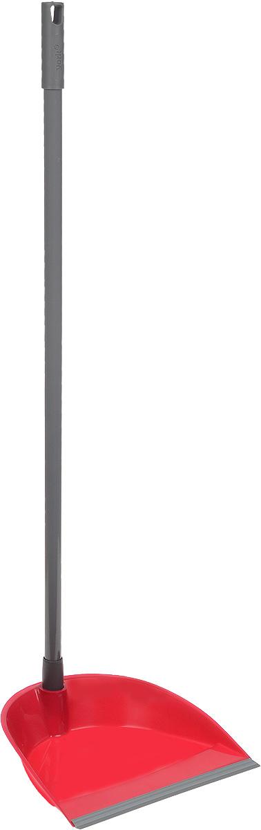 Комплект для уборки York Лень, цвет: малиновый, 2 шт6303_малиновый