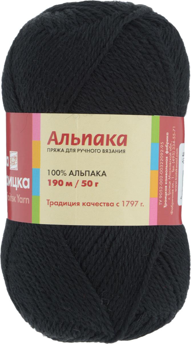 Пряжа для вязания Альпака, цвет: черный (0140), 190 м, 50 г, 10 шт366079_0140Пряжа для вязания Альпака изготовлена из 100% альпака. Пряжа - мягкая, теплая, объемная и легкая. В изделии не вытягивается и не скатывается. Идеальна для вязания одежды и аксессуаров для взрослых на осенний и зимний период. Можно также использовать для шалей и палантинов, отлично смотрится в рельефных узорах. Состав: 100% альпака. Рекомендуемые для вязания спицы 3,75 мм.