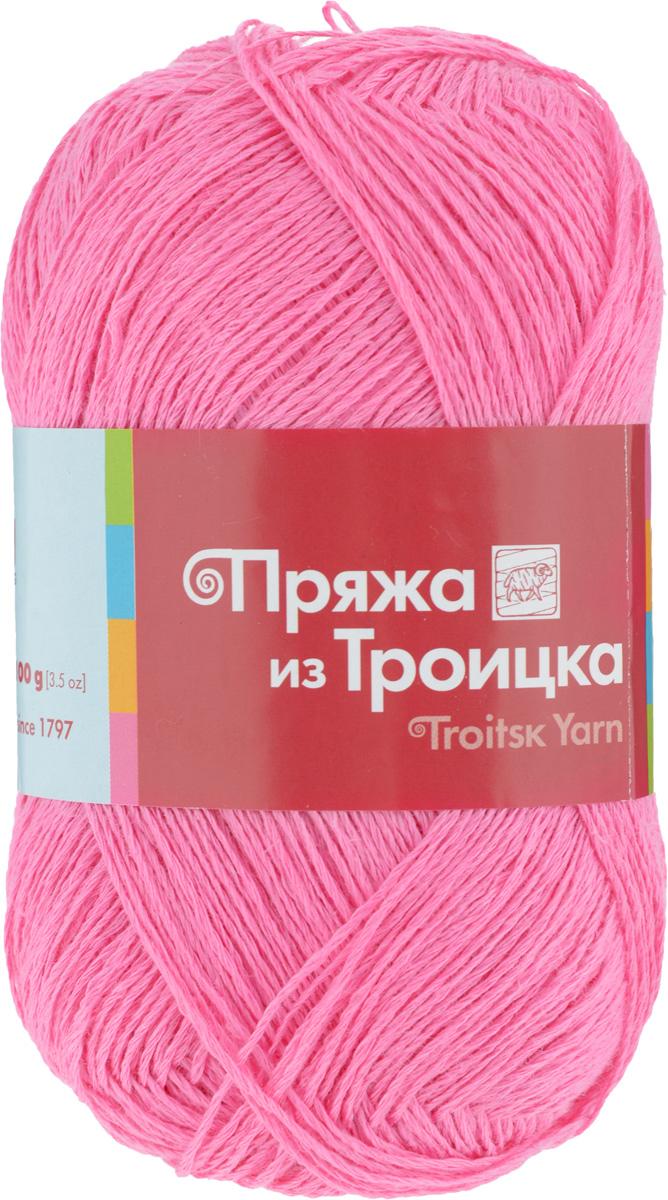 Пряжа для вязания Любимая, цвет: розовый (0162), 340 м, 100 г, 10 шт366115_0162Пряжа Любимая состоит из 100% льна. Льняная нить тонкая, поэтому подходит больше для крючка, чем для спиц. Такая пряжа довольно жесткая, износоустойчивая, хорошо держит форму изделия. Особенно хороша для вязания летних шляпок, сумочек, салфеток, вазочек. Состав: 100% лен.