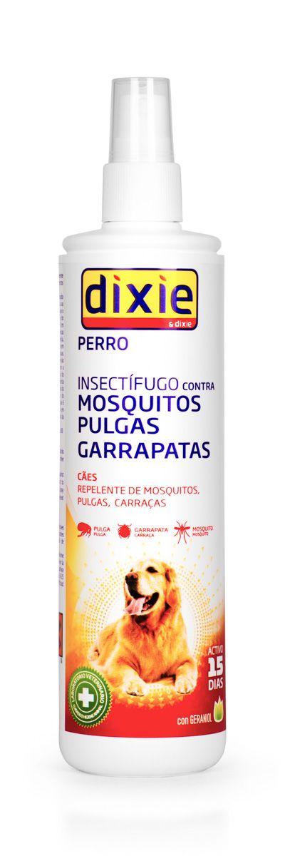 Спрей-репеллент для отпугивания насекомых от собак