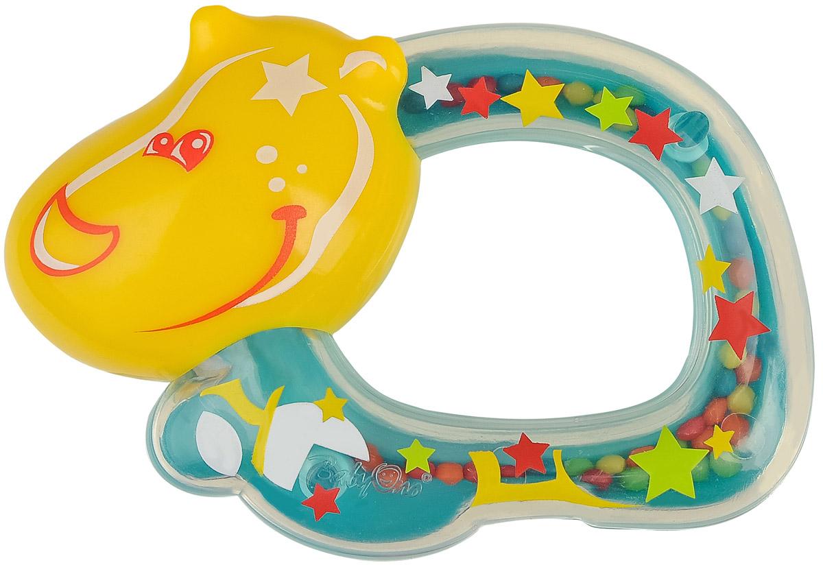 BabyOno Погремушка Бегемотик1379Погремушка BabyOno Бегемотик развивает осязательные, зрительные и двигательные способности, учит причинно-следственным связям. Погремушка имеет разнородную поверхность, что развивает чувство осязания. Учит различать формы и цвета. Звуки погремушки развивают способность различать силу звука. Погремушка развивает моторику и мануальные способности ребенка, навыки захвата ладонью и перекладывания предметов из руки в руку. Легкая конструкция погремушки и ее форма рассчитаны для маленьких ручек ребенка. Не содержит бисфенол А. Товар сертифицирован.