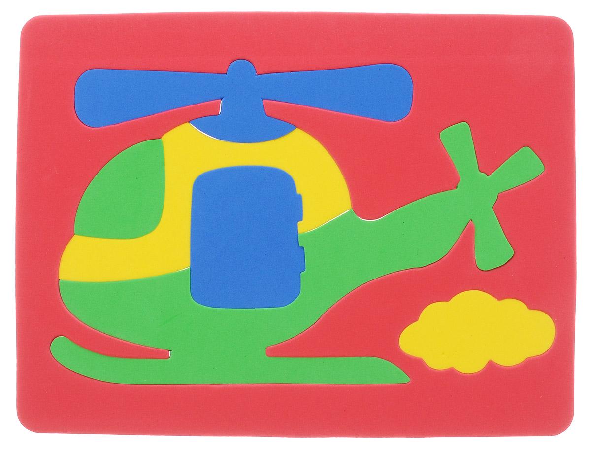 Фантазер Пазл для малышей Вертолет цвет основы красный063551В_красный оснПазл для малышей Фантазер Вертолет обязательно понравится вашему малышу! Элементы пазла выполнены из мягкого, приятного на ощупь и абсолютно безопасного материала, имеют закругленные края. Набор включает в себя 7 разноцветных элементов. Игрушка может использоваться и в ванной - при смачивании водой элементы прилипают к гладким вертикальным поверхностям. Пазл для малышей Фантазер Вертолет поможет малышу развить цветовое восприятие, мелкую моторику рук, тактильные ощущения и координацию движений. При игре с пазлом улучшается визуально-сенсорное развитие и творческое мышление.