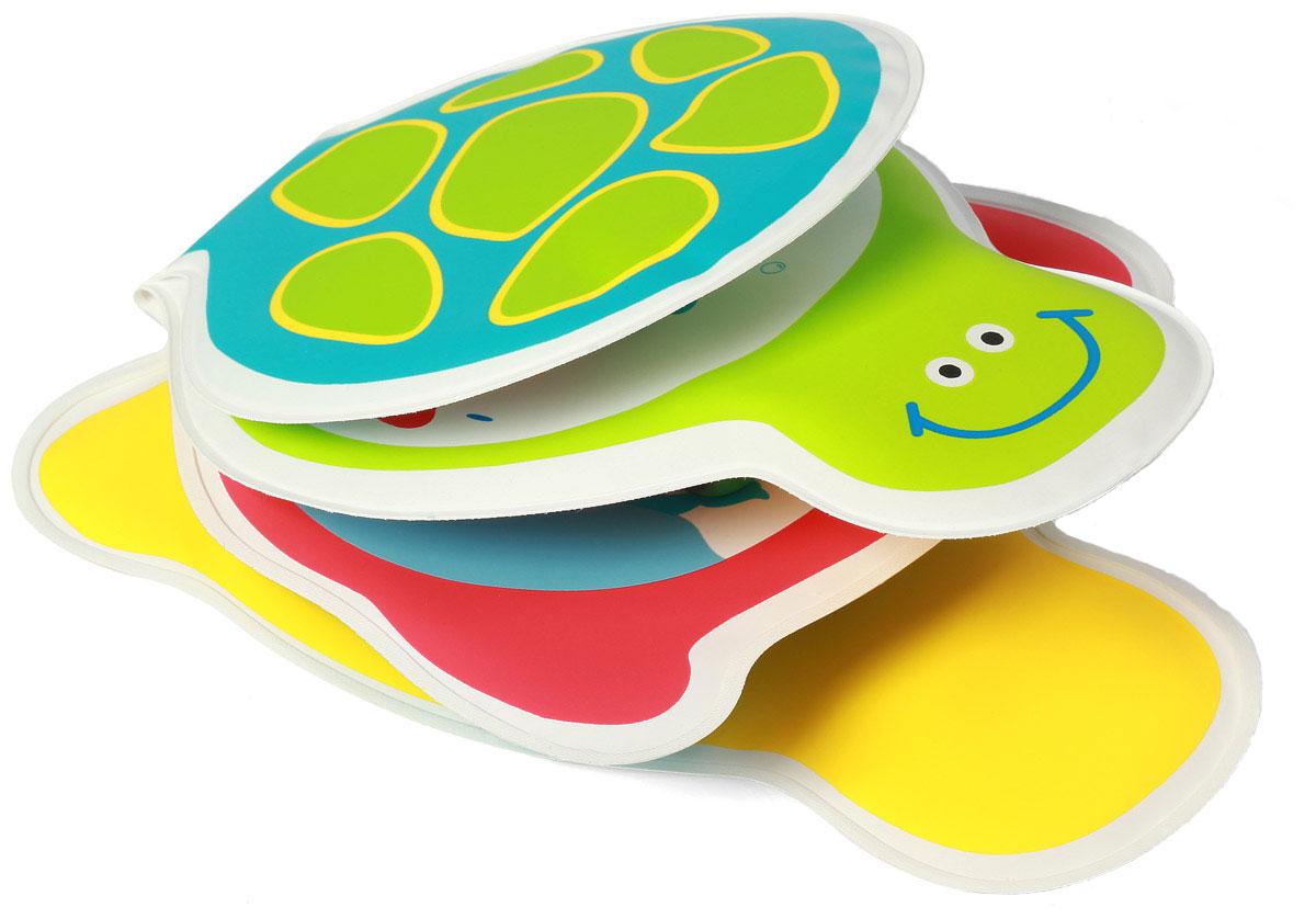 BabyOno Книжка-игрушка Черепашка892Книжка-игрушка BabyOno Черепашка - это 8 цветных мягких страниц, которые учат различать животных. На страничках книжки поселились морские жители, с которыми малыш с удовольствием познакомится во время купания. Книжечка подойдет не только для ванной, ее можно использовать в обычной игре малыша в комнате или на прогулке. Яркие странички книжки пищат при нажатии, чем привлекут внимание ребенка. Книжка-пищалка развивает мануальные способности. Интенсивные цвета и формы вызывают интерес и привлекают внимание ребенка. Книжка изготовлена из безопасных, прочных и нетоксичных материалов. Не содержит бисфенол А. Товар сертифицирован.