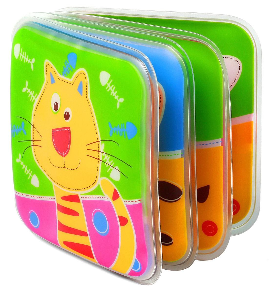 BabyOno Книжка-игрушка891Книжка-игрушка BabyOno - это 8 цветных мягких страниц, которые учат различать цвета и животных. На страничках книжки поселились животные, с которыми малыш с удовольствием познакомится во время купания. Книжечка подойдет не только для ванной, ее можно использовать в обычной игре малыша в комнате или на прогулке. Яркие странички книжки пищат при нажатии, чем привлекут внимание ребенка. Книжка-пищалка развивает мануальные способности. Интенсивные цвета и формы вызывают интерес и привлекают внимание ребенка. Книжка изготовлена из безопасных, прочных и нетоксичных материалов. Не содержит бисфенол А. Товар сертифицирован.