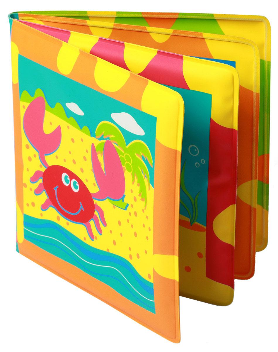 BabyOno Книжка-игрушка Океан890Книжка-игрушка BabyOno Океан - это 8 цветных мягких страниц, которые учат различать животных океан. На страничках книжки поселились водные жители, с которыми малыш с удовольствием познакомится во время купания. Книжечка подойдет не только для ванной, ее можно использовать в обычной игре малыша в комнате или на прогулке. Яркие странички книжки пищат при нажатии, чем привлекут внимание ребенка. Книжка-пищалка развивает мануальные способности. Интенсивные цвета и формы вызывают интерес и привлекают внимание ребенка. Книжка изготовлена из безопасных, прочных и нетоксичных материалов. Не содержит бисфенол А. Товар сертифицирован.