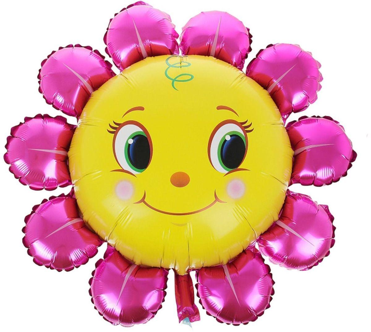 Sima-land Воздушный шарик Цветочки 32 312046