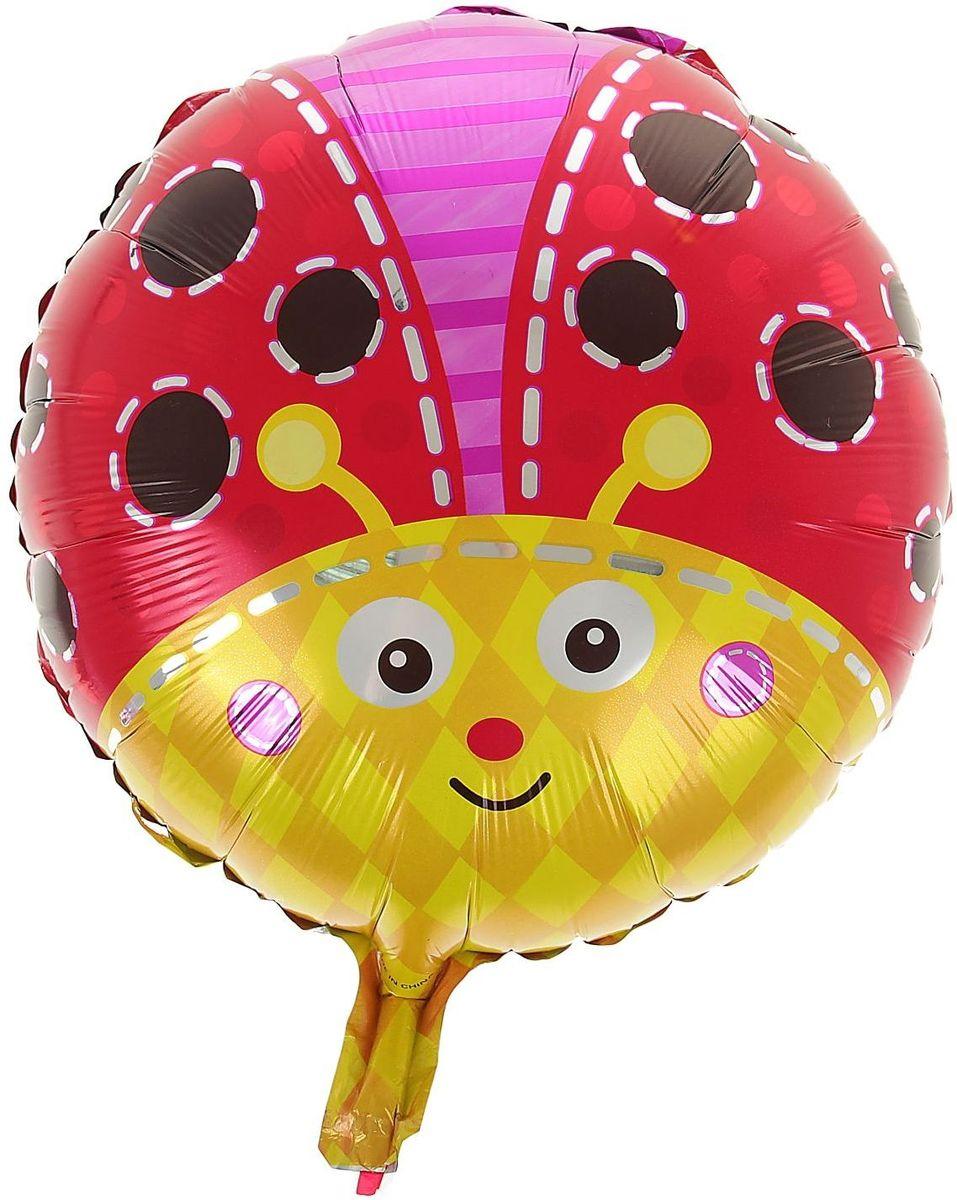 Sima-land Воздушный шарик Божья коровка Круг 18 312049