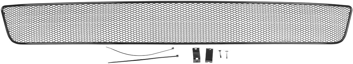 Сетка для защиты радиатора Novline-Autofamily, внешняя, для Infiniti QX80 (2014-)01-260314-151Сетка для защиты радиатора Novline-Autofamily изготовлена из антикоррозионного материала, что гарантирует отсутствие ржавчины в процессе эксплуатации. Изделие устанавливается на штатную решетку переднего бампера автомобиля, защищая таким образом радиатор от попадания камней, крупных насекомых, мелких птиц. Простая установка делает это изделие необыкновенно удобным. В отличие от универсальных сеток, для установки которых требуется снятие бампера, то есть наличие специализированных навыков и дополнительного оборудования (подъемник и так далее), для установки этой сетки понадобится 20 минут времени и отвертка. Данный продукт разработан индивидуально под каждый бампер автомобиля. Внешняя защитная сетка радиатора полностью повторяет геометрию решетки бампера и гармонично вписывается в общий стиль автомобиля.