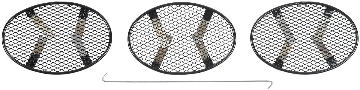 Сетка для защиты радиатора Novline-Autofamily, внешняя, для Nissan Juke (2010-2014), 3 шт01-390310-15BСетка для защиты радиатора Novline-Autofamily изготовлена из антикоррозионного материала, что гарантирует отсутствие ржавчины в процессе эксплуатации. Изделие устанавливается на штатную решетку переднего бампера автомобиля, защищая таким образом радиатор от попадания камней, крупных насекомых, мелких птиц. Простая установка делает это изделие необыкновенно удобным. В отличие от универсальных сеток, для установки которых требуется снятие бампера, то есть наличие специализированных навыков и дополнительного оборудования (подъемник и так далее), для установки этой сетки понадобится 20 минут времени и отвертка. Данный продукт разработан индивидуально под каждый бампер автомобиля. Внешняя защитная сетка радиатора полностью повторяет геометрию решетки бампера и гармонично вписывается в общий стиль автомобиля.