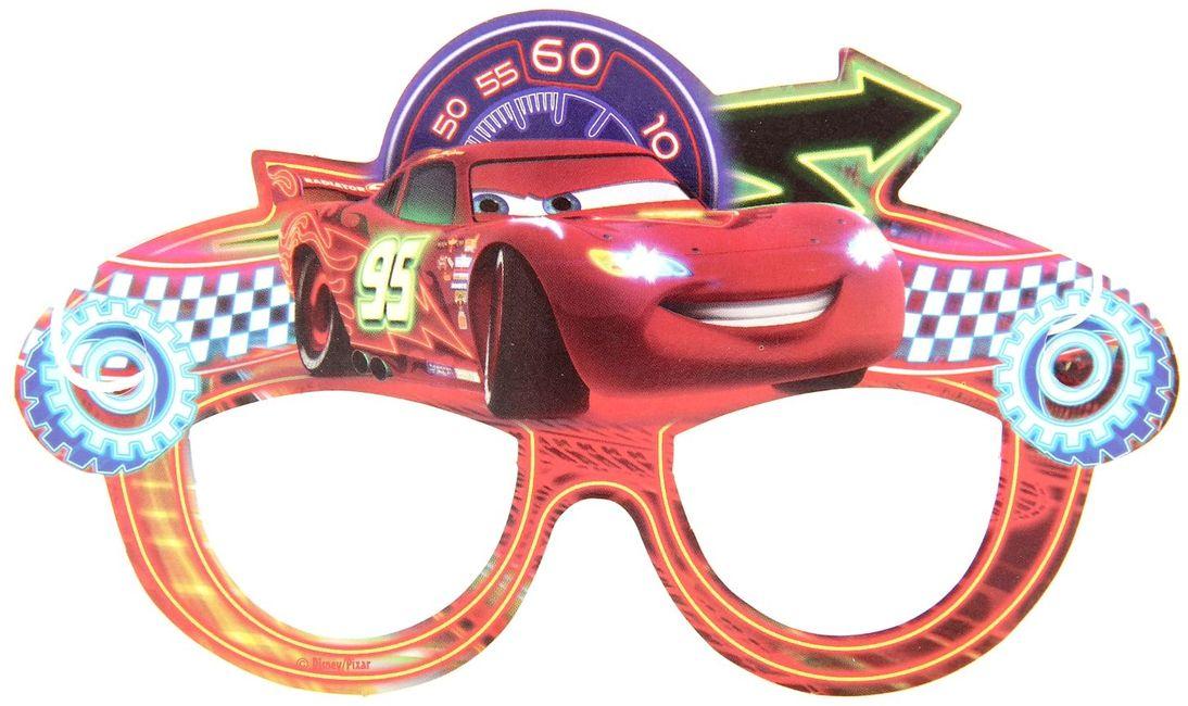 Disney Очки карнавальные детские Тачки ( 1275125 )