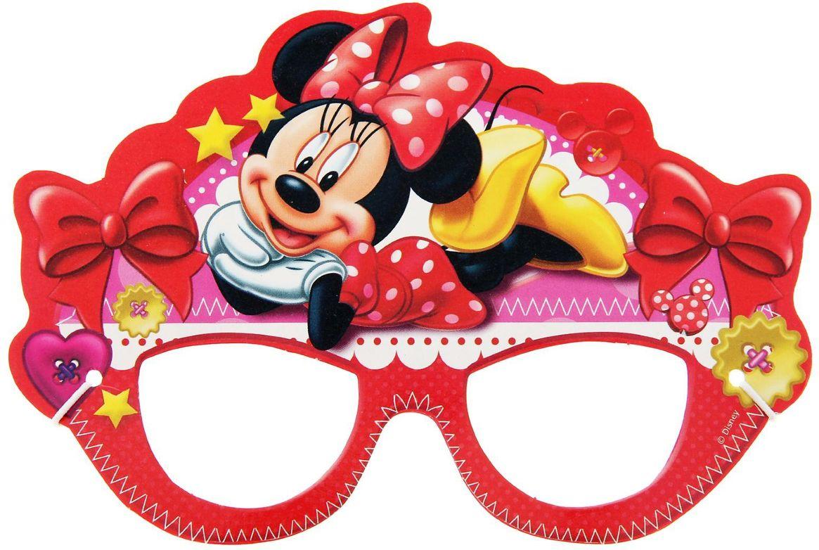 Disney Очки карнавальные детские Минни Маус