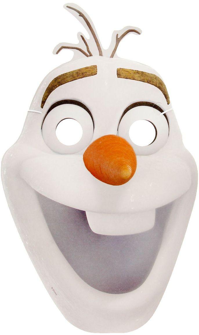 Disney Маска карнавальная детская Холодное сердце Олаф