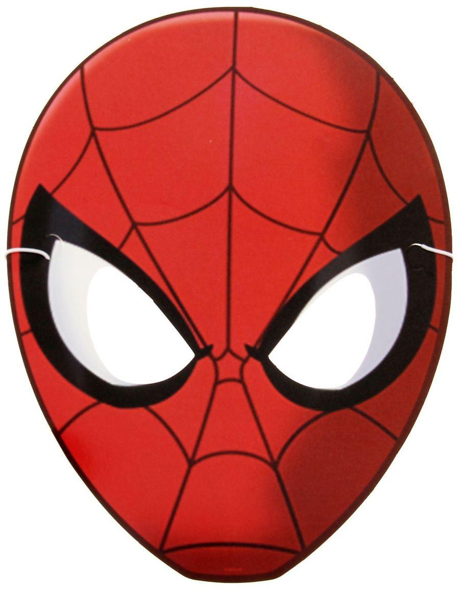 Marvel Маска карнавальная детская Человек Паук