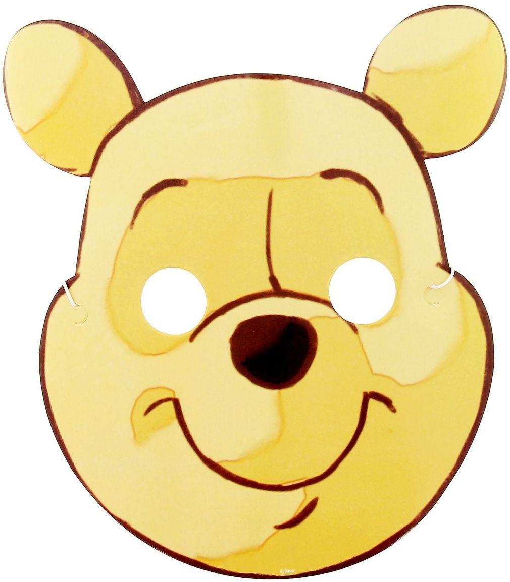 Disney Маска карнавальная детская Медвежонок Винни
