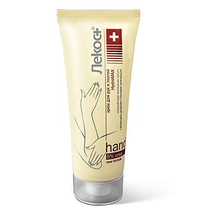 Лекос+ Крем для рук и локтей HYDROMAX, 75 мл13455Насыщенная формула крема позволяет быстро восполнить недостаток влаги даже в очень сухой и огрубевшей коже. Крем образует на коже защитный слой, удерживающий влагу, оказывает питательное и антиоксидантное действие, глубоко смягчает и питает, придает коже мягкость и бархатистость, повышает тургор и эластичность. Мочевина интенсивно увлажняет кожу, улучшает состояние водного баланса рогового слоя эпидермиса, усиливает регенеративные возможности кожи и повышает ее защитные функции; ускоряет отшелушивание ороговевших клеток, не допуская образования трещин, делает кожу мягкой, эластичной и шелковистой. Благодаря маленькому молекулярному весу мочевина является проводником биологически активных веществ, включенных в состав крема, в глубокие слои кожи.