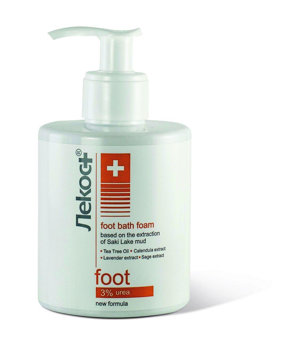 Лекос+ Пена для принятия ножных ванн, 290 мл2220УспокаиQ50:AW50 принятия ножных ванн с вытяжкой из грязи Сакского озера, обогащенной экстрактами календулы, шалфея и лаванды, снимает усталость и тяжесть в ногах. Масло чайного дерева оказывает противовоспалительное и антисептическое действие. Мочевина интенсивно увлажняет и размягчает загрубевшие участки кожи, способствует заживлению мелких ран и трещин.
