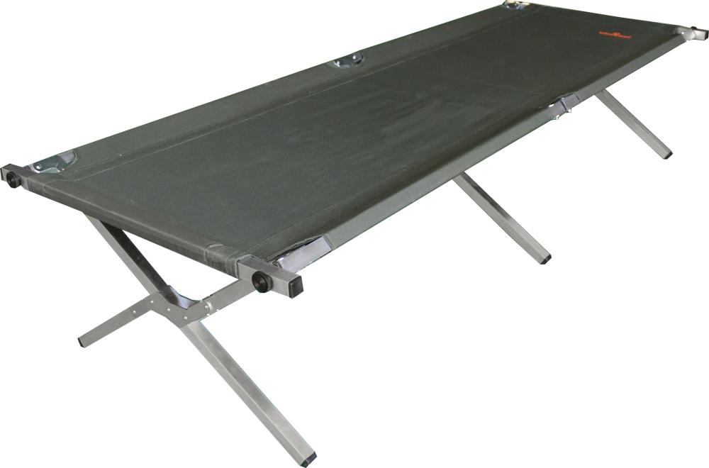Кровать кемпинговая Woodland Camping bed, складная, 190 x 65 x 41 см, цвет: зеленый. 0049679