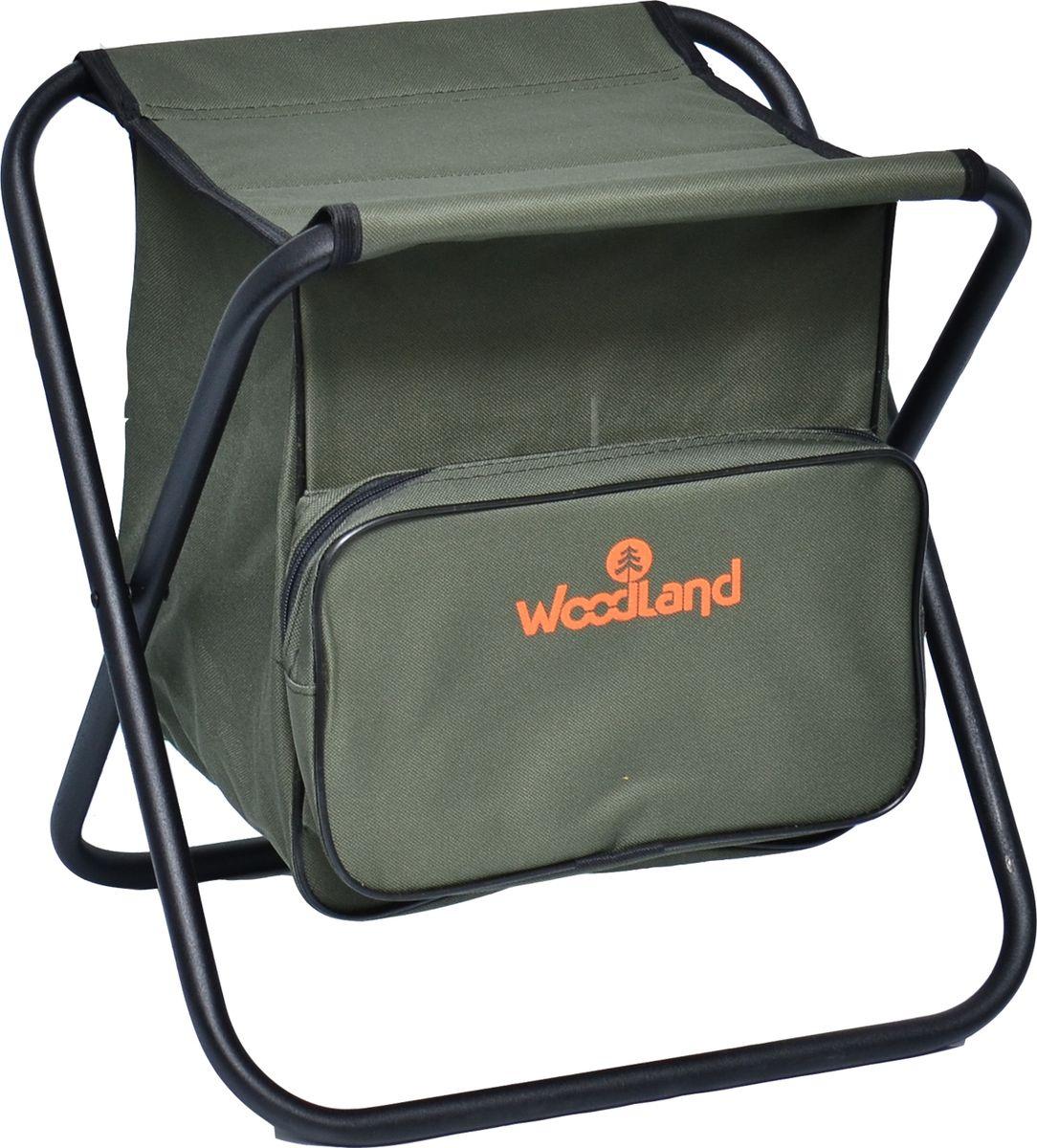Стул Woodland Compact BAG складной, кемпинговый 38,5 x 32,5 х 40 см, цвет: зеленый. 0055543 ( 0055543 )