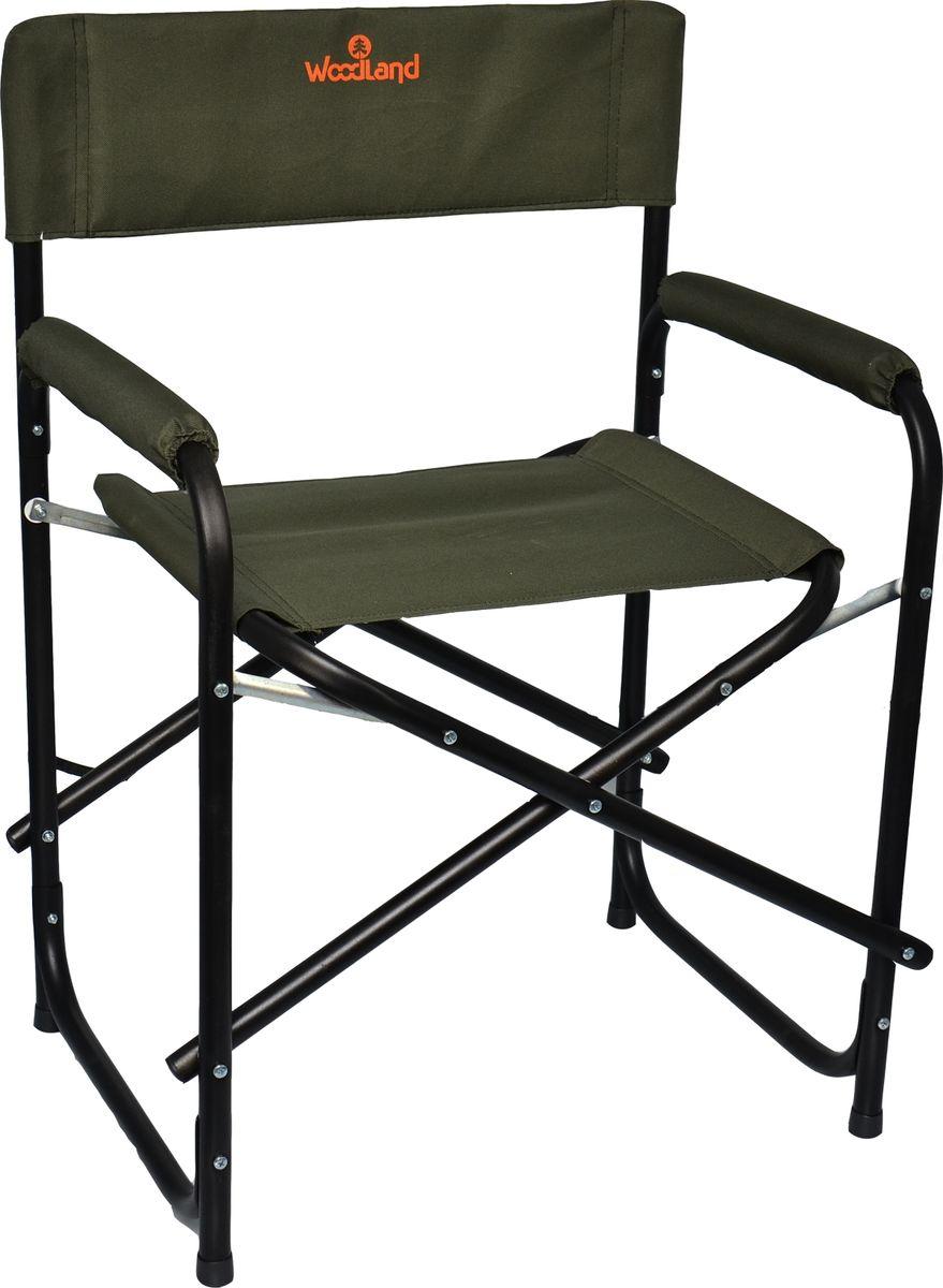 Кресло Woodland OutdoorNEW, складное, кемпинговое, 56 x 46 x 80 см, цвет: зеленый. 0055354