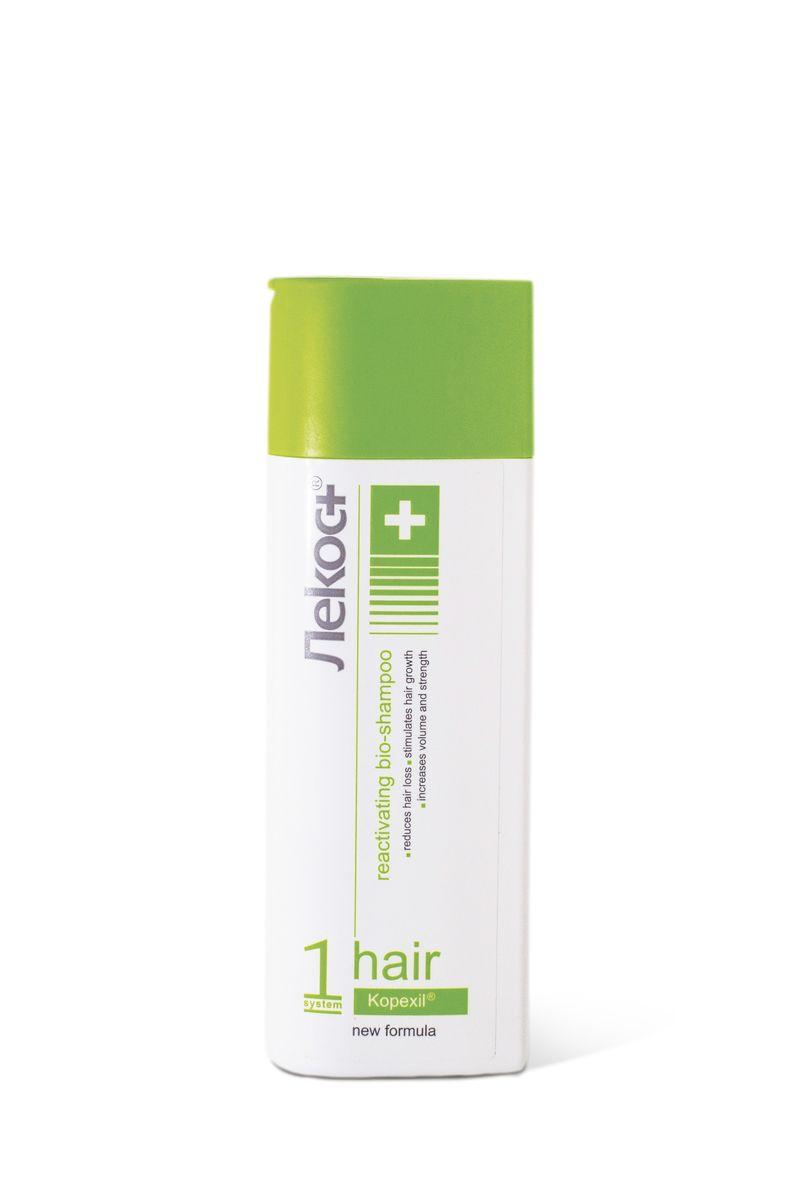 Лекос+ Био-шампунь АКТИВИЗИРУЮЩИЙ, 200 г6761Революционный шампунь для укрепления волос изнутри и ускорения их роста. Уникальный компонент био-шампуня Kopexil® активизирует кровоснабжение волосяной луковицы, продлевает фазу роста волос, помогает остановить преждевременное выпадение волос, утолщает их и стимулирует рост. Используйте при выпадении волос после сильного стресса, после родов, после общего наркоза, при заболеваниях кожи головы, при неблагоприятной экологии, при акклиматизации, после окрашивания и химической завивки.