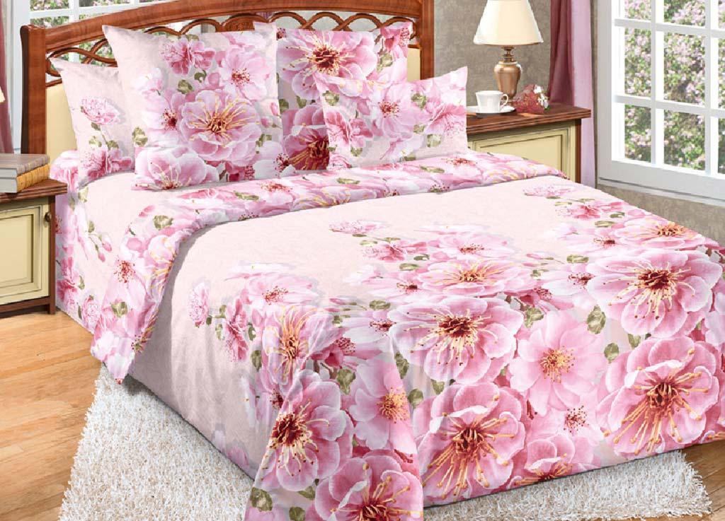 Комплект белья Primavera Миндаль, 2-спальный, наволочки 70x70, цвет: розовый80884Наволочки с декоративным кантом особенно подойдут, если вы предпочитаете класть подушки поверх покрывала. Кайма шириной 5-10см с трех или четырех сторон делает подушки визуально более объемными, смотрятся они очень аккуратно, даже парадно. Еще такие наволочки называют оксфордскими или наволочками «с ушками». Сатин – прочная и плотная ткань с диагональным переплетением нитей. Хлопковый сатин по мягкости и гладкости уступает атласу, зато не будет соскальзывать с кровати. Сатиновое постельное белье легко переносит стирку в горячей воде, не выцветает. Прослужит комплект из обычного сатина меньше, чем из сатина повышенной плотности, но дольше белья из любой другой хлопковой ткани. Сатин приятен на ощупь, под ним комфортно спать летом и зимой. Производство «Примавера» находится в Китае, что позволяет сократить расходы на доставку хлопка. Поэтому цены на это постельное белье более чем скромные и это не сказывается на качестве. Сатин очень гладкий, мягкий, но при этом, невероятно прочный....