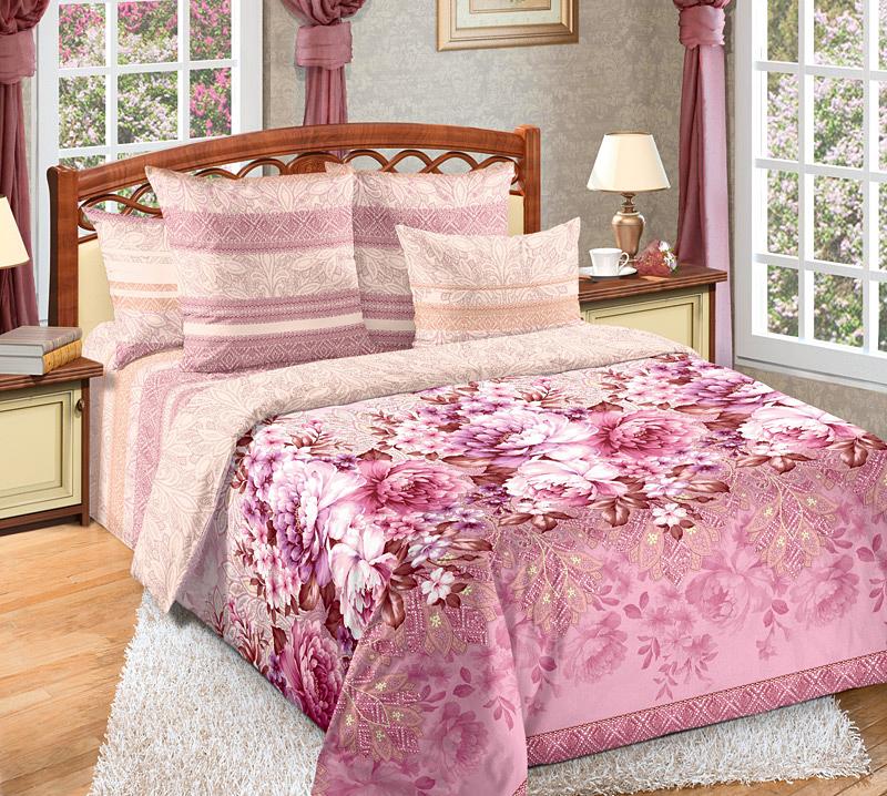 Комплект белья Primavera Лукреция, 1,5-спальный, наволочки 70x70, цвет: светло-розовый86757Наволочки с декоративным кантом особенно подойдут, если вы предпочитаете класть подушки поверх покрывала. Кайма шириной 5-10см с трех или четырех сторон делает подушки визуально более объемными, смотрятся они очень аккуратно, даже парадно. Еще такие наволочки называют оксфордскими или наволочками «с ушками». Сатин – прочная и плотная ткань с диагональным переплетением нитей. Хлопковый сатин по мягкости и гладкости уступает атласу, зато не будет соскальзывать с кровати. Сатиновое постельное белье легко переносит стирку в горячей воде, не выцветает. Прослужит комплект из обычного сатина меньше, чем из сатина повышенной плотности, но дольше белья из любой другой хлопковой ткани. Сатин приятен на ощупь, под ним комфортно спать летом и зимой. Производство «Примавера» находится в Китае, что позволяет сократить расходы на доставку хлопка. Поэтому цены на это постельное белье более чем скромные и это не сказывается на качестве. Сатин очень гладкий, мягкий, но при этом, невероятно прочный....