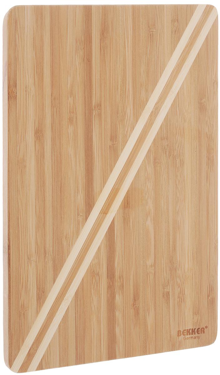 Доска разделочная Bekker, бамбуковая, 30 х 20 см. BK-9723