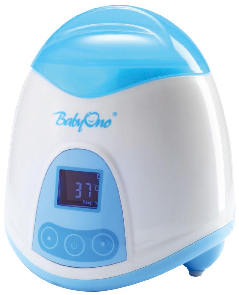 BabyOno Электрический подогреватель и стерилизатор 2 в 1218Электрический подогреватель и стерилизатор 2 в 1 BabyOno существенно сэкономит мамино время и поможет быстро подогреть водичку для приготовления смеси малютке. У вас появится больше приятных минут, которые вы с радостью проведете с малышом. Благодаря широкому диапазону температур вы сможете: Легко подогреть пищу на водяной бане, сохраняя питательные вещества; Подогреть до заданной температуры пищу в бутылках и готовое питание в баночках; Простерилизировать соски и мелкие элементы бутылок; Подогреть густую пищу на водяной бане в специальной мисочке. Особенности: Функция поддерживания постоянной температуры; Видимый в темноте дисплей с подсветкой; Точная установка необходимой температуры; Интуитивное обслуживание; Подходит для всех доступных на рынке бутылок и баночек с готовым детским питанием; Защита от перегрева; Автоматическое выключение при...