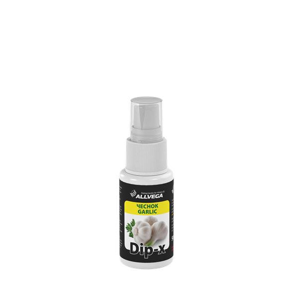 Ароматизатор-спрей ALLVEGA Dip-X Garlic - ЧЕСНОК, 50 мл. 5263552635Это серия высококонцентрированных растворов с различными запахами в виде спрея, предназначенных для быстрой ароматизации различных наживок и приманок, в том числе искусственных. Широкий ассортимент запахов позволяет выбрать оптимальный вариант в любой ситуации.