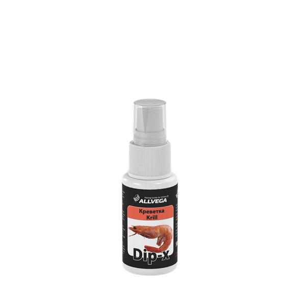 Ароматизатор-спрей ALLVEGA Dip-X Krill - КРЕВЕТКА, 50 мл. 5264052640Это серия высококонцентрированных растворов с различными запахами в виде спрея, предназначенных для быстрой ароматизации различных наживок и приманок, в том числе искусственных. Широкий ассортимент запахов позволяет выбрать оптимальный вариант в любой ситуации.