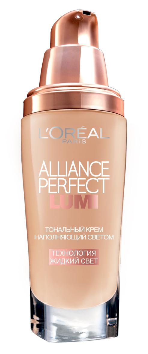 LOreal Paris Тональный крем Alliance Perfect, Lumi, оттенок R2, Розовая ваниль, 30 млA8510300Тональный крем Lumi Magique меняет традиционное представление о тональном креме: его формула направлена на то, чтобы сохранять естественный свет, идущий от нашей кожи. Уникальный активный ингредиент - Флюид Андерсена, настоящий концентрат жидкого света, дарит кожи несравненное естественное сияние. Флюид содержит специальные частички в форме пластинок, имеющие легкий блеск, при нанесении они располагаются радом друг с другом, оптимально отражая свет и улучшая сияние кожи. Результат: тон кожи идеально выровнен. + 33% сияния*, 24 часа увлажнения, 14 часов стойкости*, 100% отсутствие жирного блеска** *Самооценка, 55 респондентов **Клинический тест, 29 респондентов, % улучшения после 8 недель использования